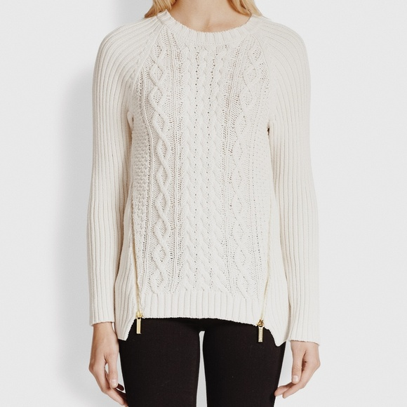 MICHAEL Michael Kors Sweaters - • MICHAEL MICHAEL KORS • cream cable knit sweater